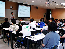 Assistance of the Tohoku University's basic course of Instrumental Methods for Material Analysis