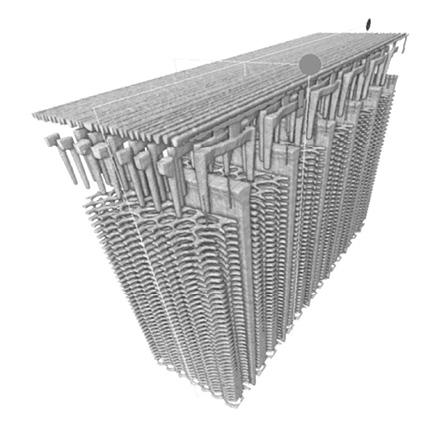 図8 3D メモリーの3D 再構成画像