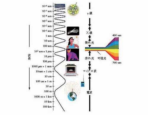 波長と電磁波の種類