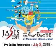 JASIS 2019 Pre On-line Registration
