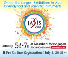 JASIS 2018 Pre On-line Registration